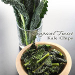 Tropical Twist Kale Chips by Hybrid Rasta Mama