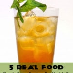 5 Real Food Simple Syrup Recipes: HybridRastaMama.com