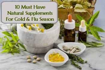 Natural Supplements for Cold and Flu Season