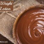 DIY Weight Loss Lotion